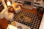 Saddle Creek Model Living Room 2